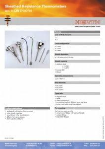 TMC Instruments; Herth mantel weerstandsthermometers pdf db001