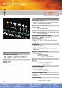 TMC Instruments; Herth thermokoppel onderdelen pdf db005