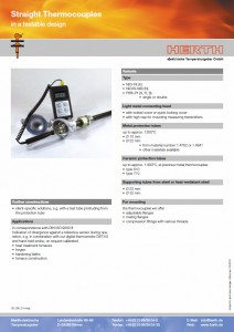 TMC Instruments; Herth test thremokoppels pdf db006